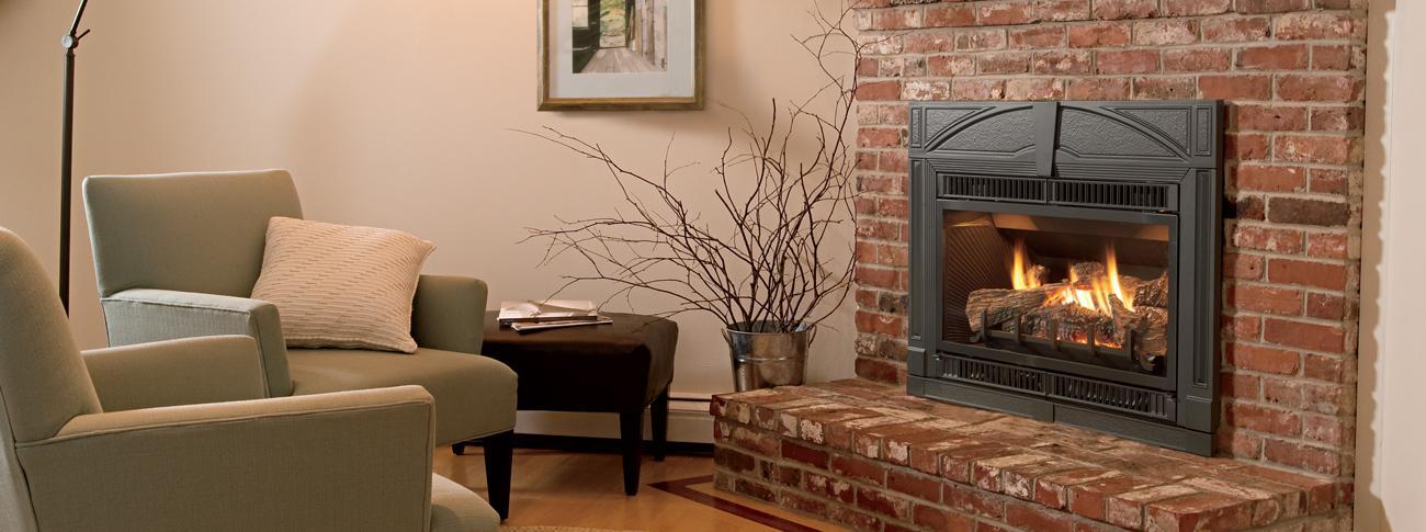 gas fireplace insert Jotul