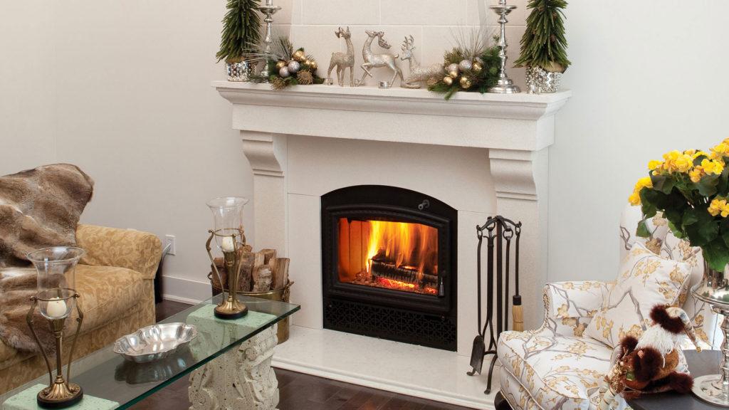 Opel 3 wood burning fireplace